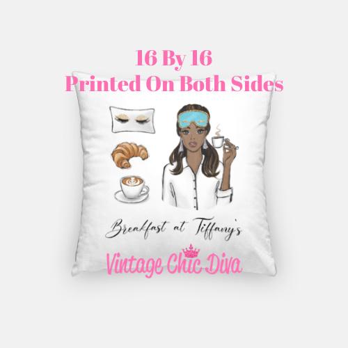 Breakfast At Tiffanys Girl4 Pillow Case-