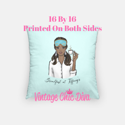 Breakfast At Tiffanys Girl6 Pillow Case-