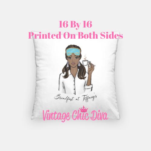 Breakfast At Tiffanys Girl7 Pillow Case-