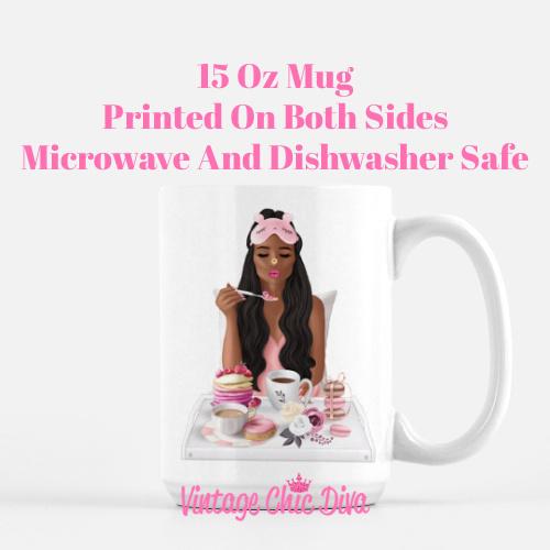 Breakfast Girl10 Coffee Mug-