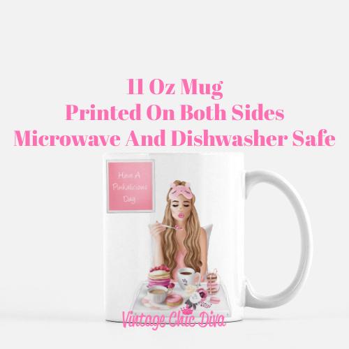 Breakfast Girl1 Coffee Mug-