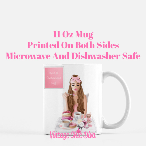 Breakfast Girl2 Coffee Mug-