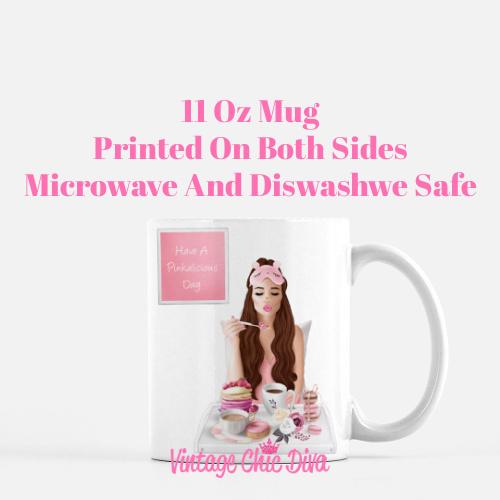 Breakfast Girl3 Coffee Mug-