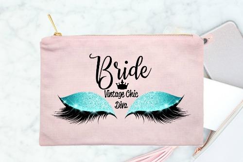 Bride Aqua Eyes Pink-