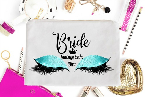 Bride Aqua Eyes White-