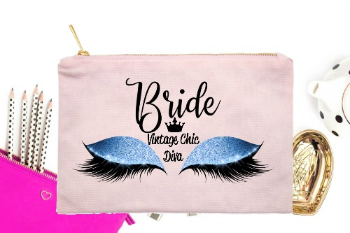 Bride Blue Eyes Pink-