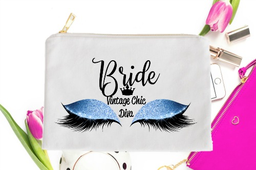 Bride Blue Eyes White-