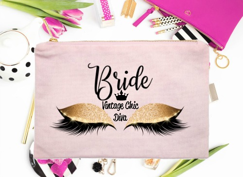 Bride Gold Eyes Pink-