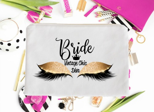 Bride Gold Eyes White-