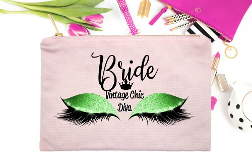 Bride Green Eyes Pink-
