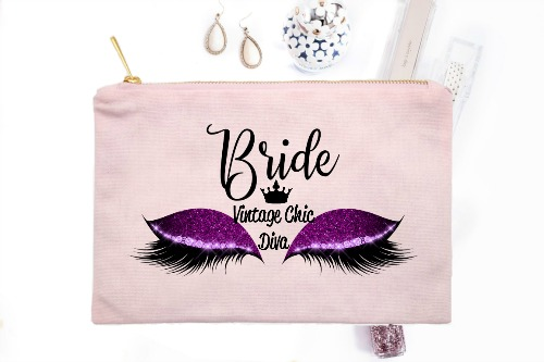 Bride Purple Eyes Pink-