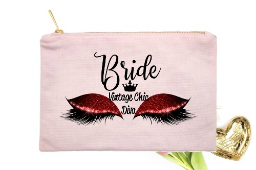 Bride Red Eyes Pink-