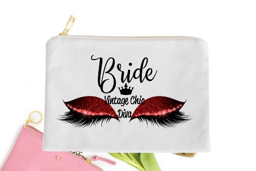 Bride Red Eyes White-