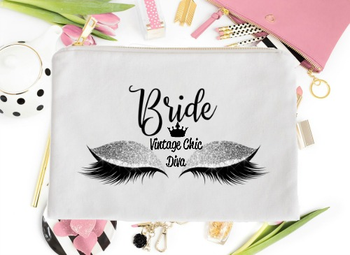 Bride Silver Eyes White-