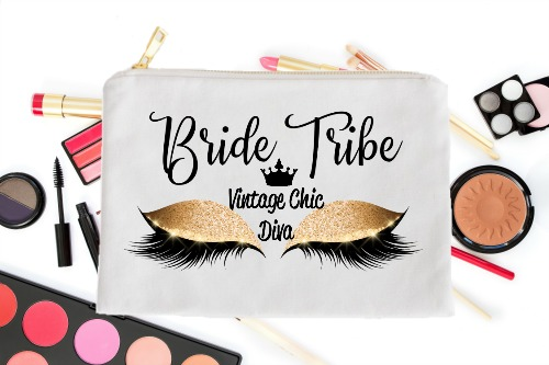 Bride Tribe Gold Eyes White-