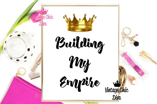Building My Empire Crown White Background-