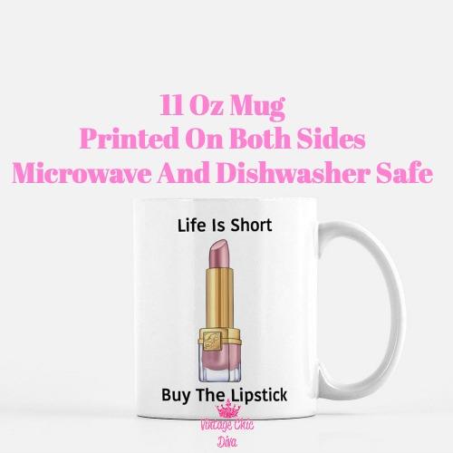 Buy The Lipstick Blush1 Coffee Mug-