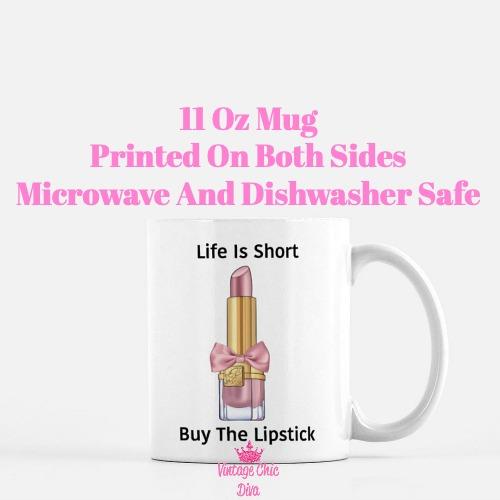 Buy The Lipstick Blush2 Coffee Mug-
