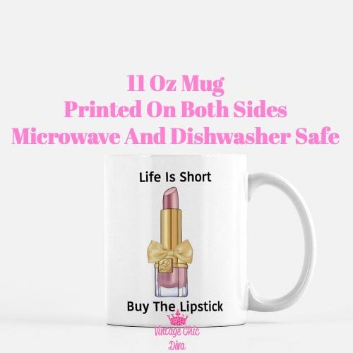 Buy The Lipstick Blush3 Coffee Mug-