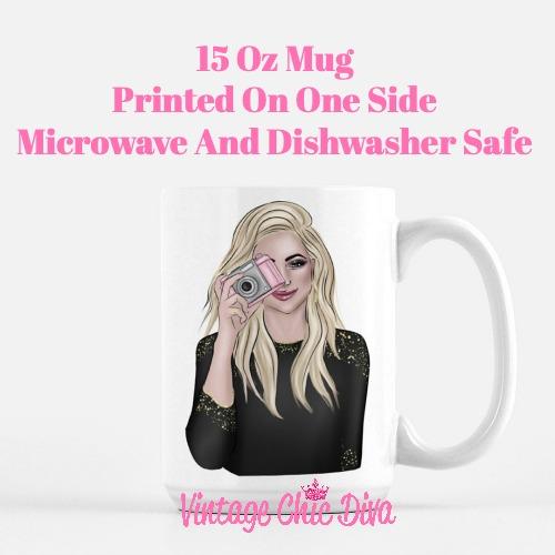 Camera Girl1 Coffee Mug-
