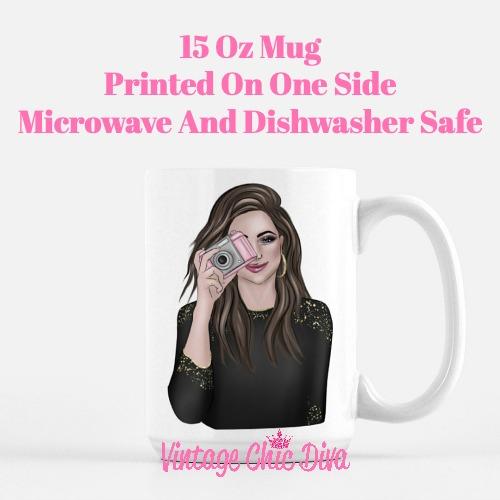 Camera Girl2 Coffee Mug-