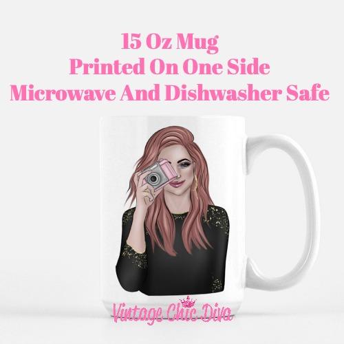 Camera Girl3 Coffee Mug-