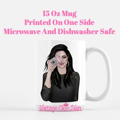 Camera Girl4 Coffee Mug-