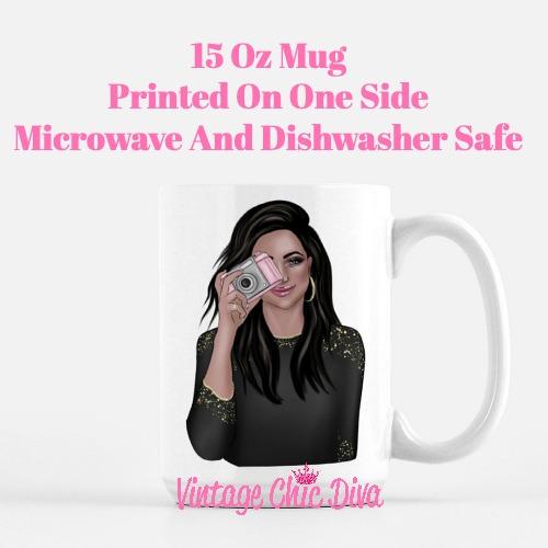 Camera Girl5 Coffee Mug-
