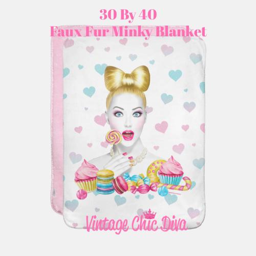 Candy Girl1 Blanket-