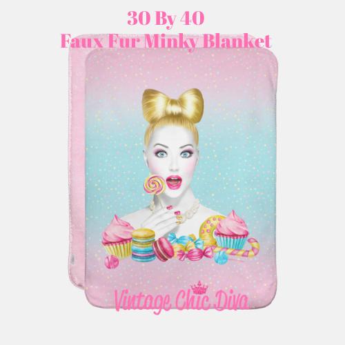 Candy Girl2 Blanket-