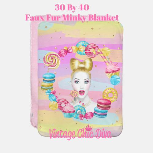 Candy Girl3 Blanket-