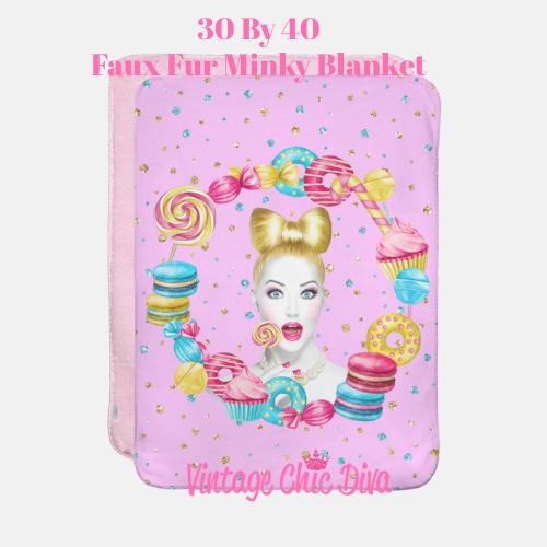 Candy Girl4 Blanket-