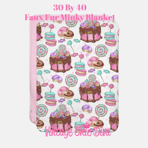 Candy Girl5 Blanket-