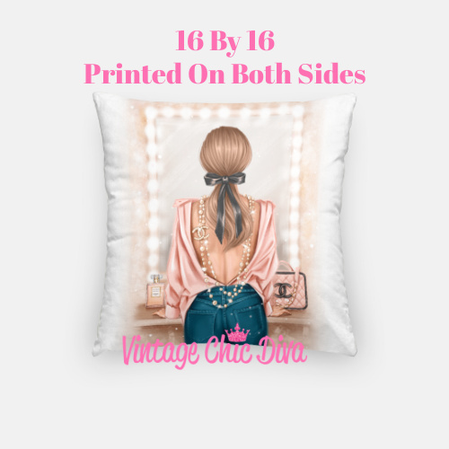 Chanel Beauty Girl1 Pillow Case-