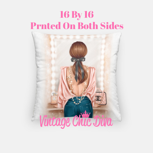 Chanel Beauty Girl2 Pillow Case-