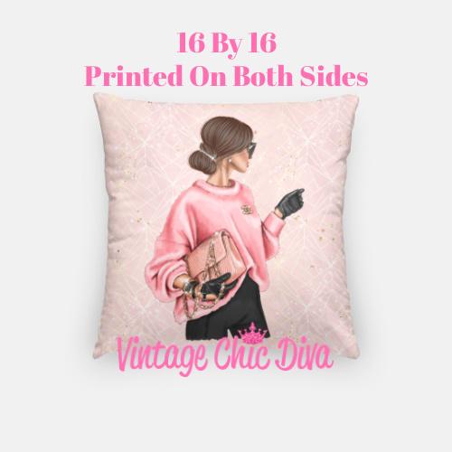 Chanel Beauty Girl5 Pillow Case-
