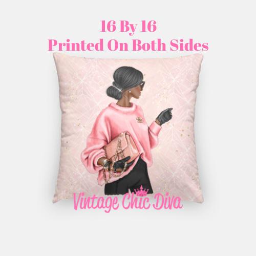 Chanel Beauty Girl6 Pillow Case-