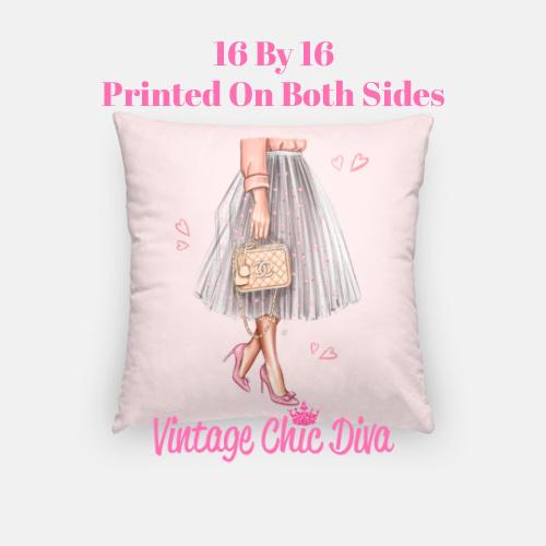 Chanel Beauty Girl7 Pillow Case-
