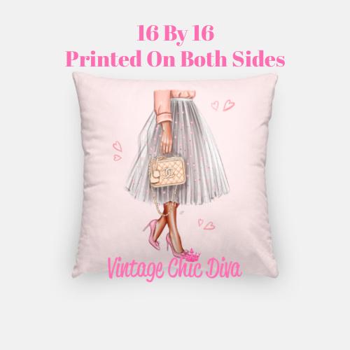 Chanel Beauty Girl8 Pillow Case-