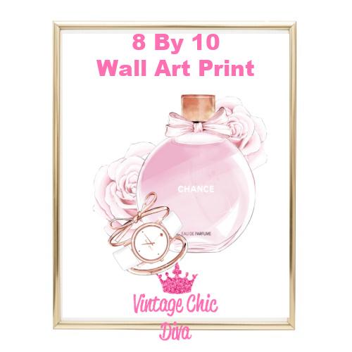 Chanel Chance Pink Perfume Set1-