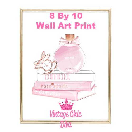 Chanel Chance Pink Perfume Set2-
