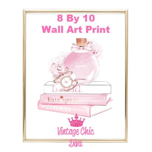 Chanel Chance Pink Perfume Set3-