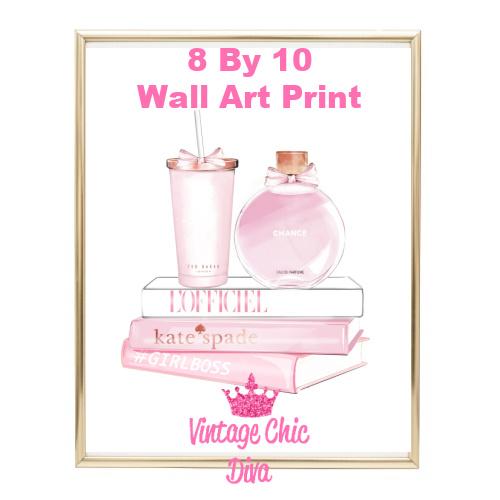 Chanel Chance Pink Perfume Set4-