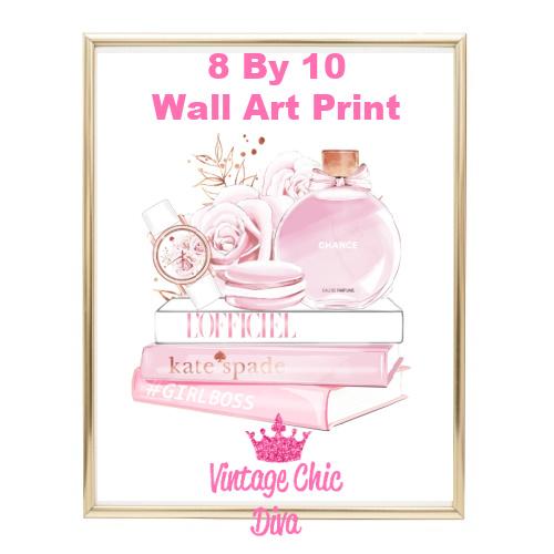 Chanel Chance Pink Perfume Set6-