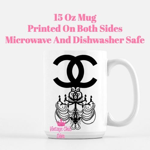 Chanel Chandelier1 Coffee Mug-