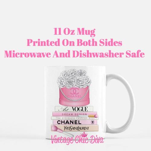 Chanel Flower Box Book Set6 Coffee Mug-