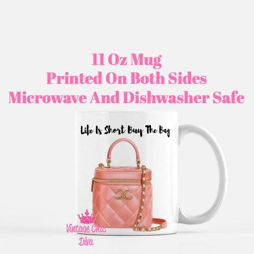 Chanel Glam Handbag10 Coffee Mug-