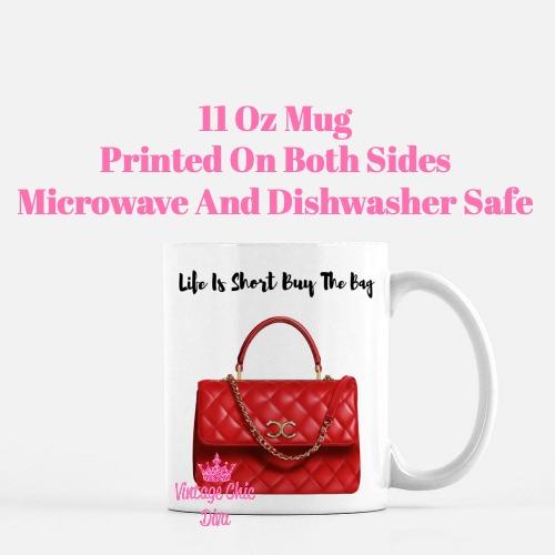 Chanel Glam Handbag1 Coffee Mug-