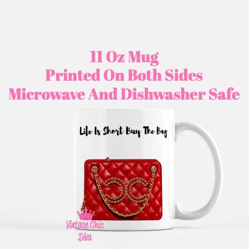 Chanel Glam Handbag4 Coffee Mug-