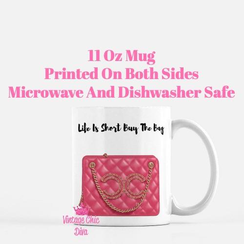 Chanel Glam Handbag5 Coffee Mug-